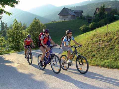 Radtouren am Klopeiner See