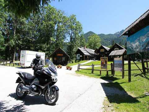 Mit dem Motorrad in Slowenien